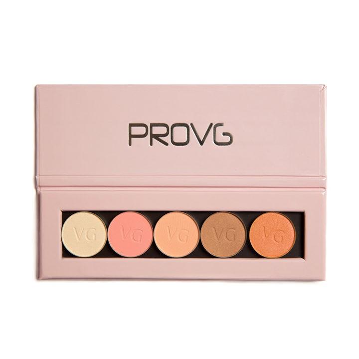 Купить палетку с тенями ProVG Spring Melody PE001
