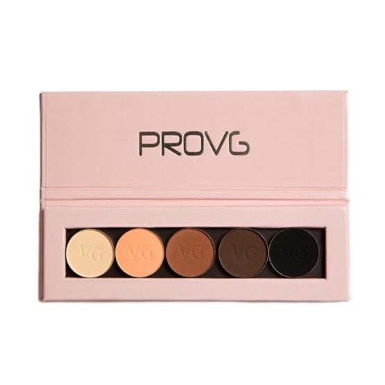 Купить палетку с тенями ProVG Peach Harmony PE003