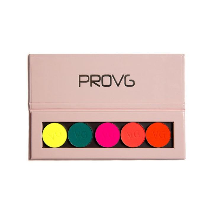 Купить палетку с тенями ProVG Neon Splash PE012