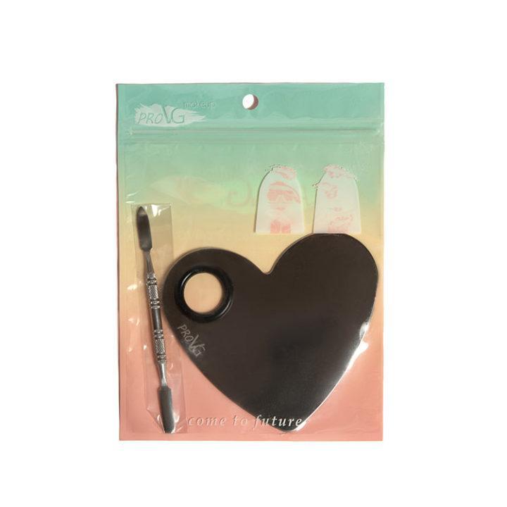 Купить палитру для смешивания Silver Heart + шпатель ProVG