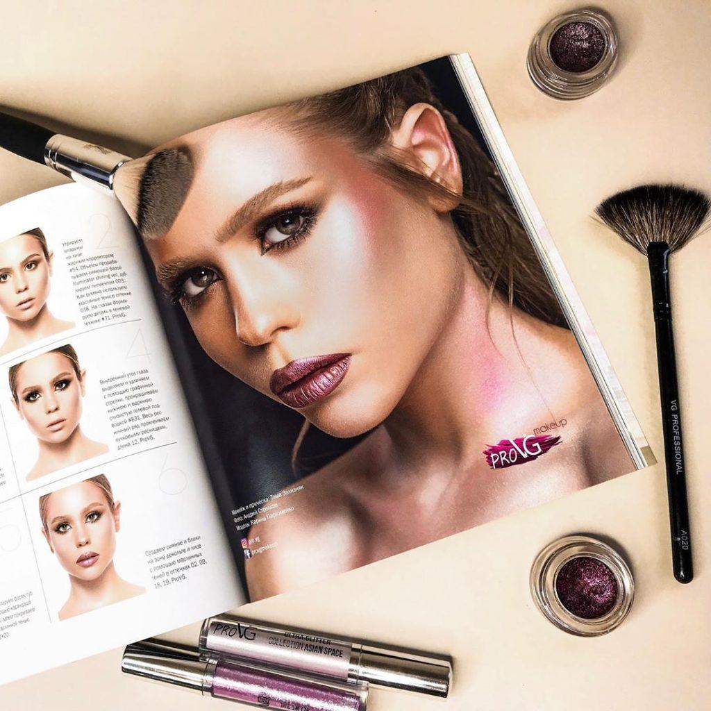 Технология нанесения макияжа Make Up 5